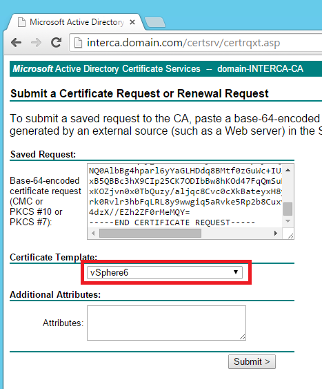 Replacing your vsphere 60 certificates using your own ca no vmca custommachinessl6 yelopaper